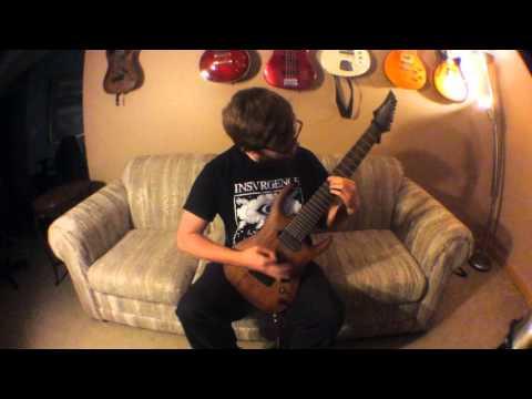 Bermuda - Vertebroken (Guitar Playthrough)
