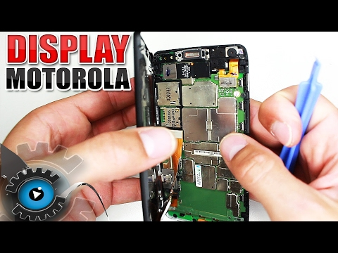Motorola Razr i Glas Display Wechseln Tauschen Reparieren [Deutsch/German]