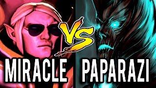 Miracle- [Invoker] vs Paparazi [Terrorblade] ► 10k MMR BATTLE - Dota 2