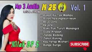 Nilah BP5 Mp3 Audio Vol. I ,Live Show,N25