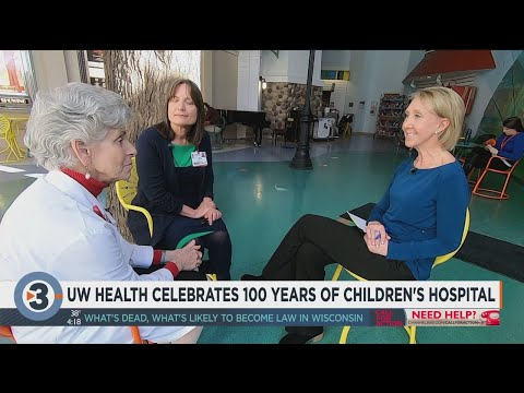 UW Health celebrates 100 years of Children's Hospital