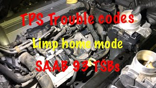 SAAB 93 TPS trouble/THROTTLE BODY (works for any car)