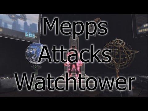 DCUO Mepps Attacks Watchtower