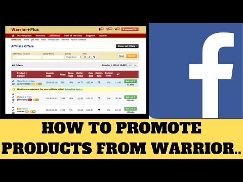 how-to-promote-💰🔥products-from-warrior-plus-on-facebook-(work-from-home)💰🔥