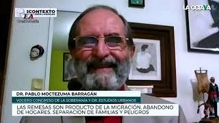MIGRANTES MEXICANOS SE HAN CONVERTIDO EN ESCLAVOS MODERNOS Pablo Moctezuma Barragán