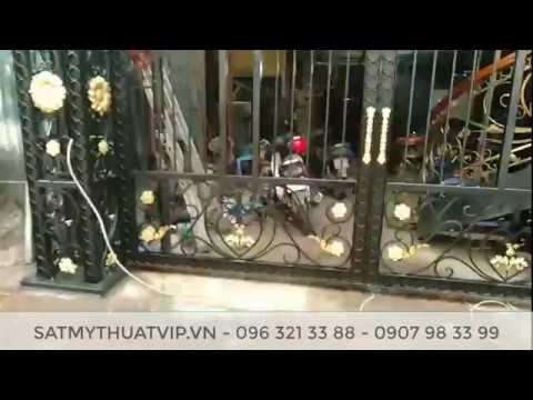Thi công cửa cổng sắt nghệ thuật, mỹ thuật tại Hà Nội