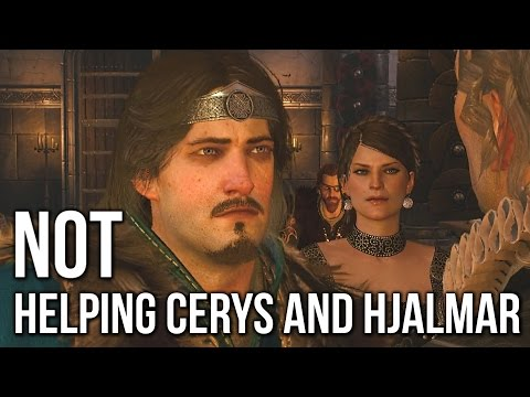 Witcher 3: What Happens if you DON'T help Cerys and Hjalmar (Crach's Children)