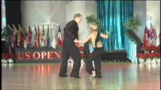 Kyle Redd & Sarah Vann Drake 2008 US Open Swing Dance Championships