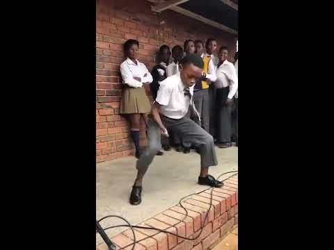 When the beat drops at school in South Africa