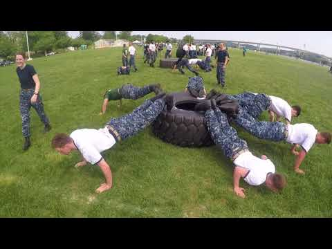 USNA Class of 2021 Sea Trials