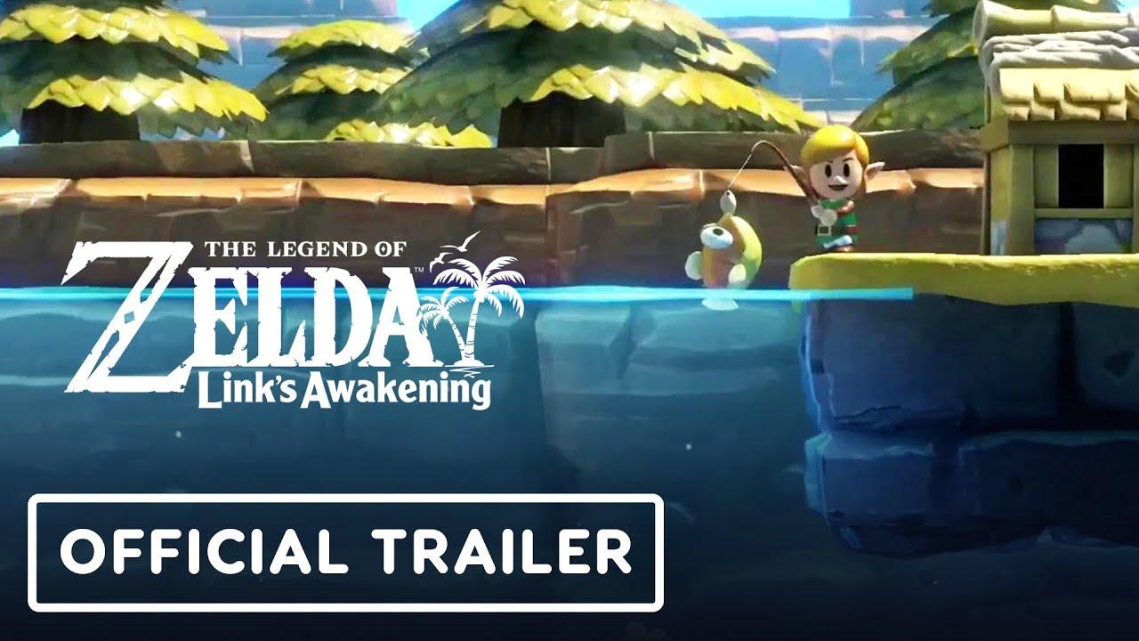 The Legend of Zelda: Link's Awakening Release Date Trailer - E3 2019 thumbnail