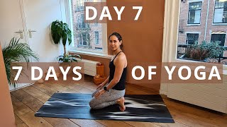 Gentle Yoga | Create Your Home Yoga Practice Routine // Day 7 of Seven Days of Yoga