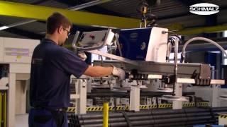 Vacuum Lifting Device - Horizontal Handling Of Metal Sheets | Schmalz