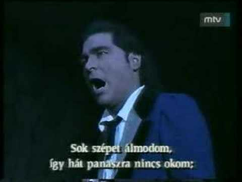 Peter Kelen Che gelida manina Rodolfo's aria from La Bohème en streaming