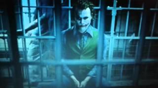 Batman il cavaliere oscuro joker in galera