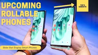 Top 5 Rollable Phones with Sliding screens 2021 | Rollable Smartphones  | Rolling Display Phones