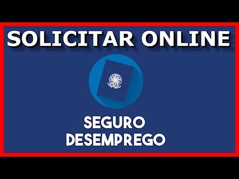 Dar entrada no SEGURO DESEMPREGO pela internet com computador online (2021).