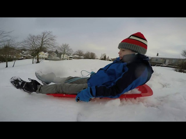 Sledging in Lenzie - December 2017