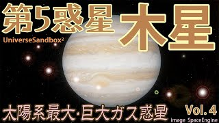 【Universe Sandbox 2 Vol.4】木星 (Jupiter)・シューメーカー・レヴィ第9彗星