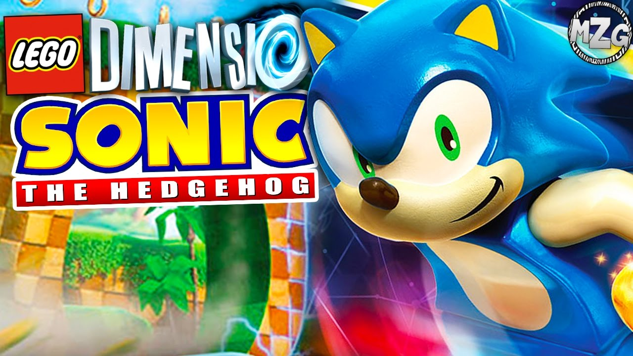 Sonic The Hedgehog Level Pack Lego Dimensions Gameplay Youtube