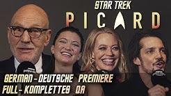 STAR TREK PICARD Premiere Berlin Full Q&A Main Cast & Crew Sir Patrick Stewart