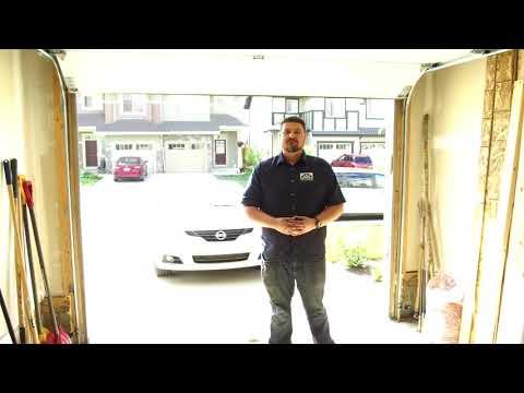 Garage Doors Edmonton | Checking Your Garage Door Opener's Sensitivity