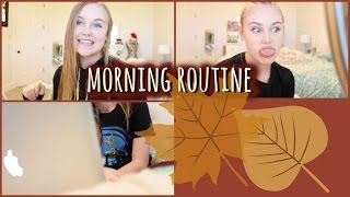 Weekend Morning Routine | Fall Edition Thumbnail
