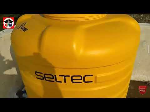 How to clean PVC water tank
