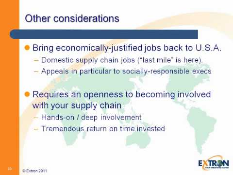 Managing Demand-side Volatility in a Globalized Supply Envir