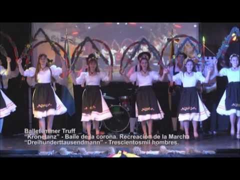 Ballet Immer Truff - Deutsche Tanzgruppe und Musikanten (La Pampa, Patagonia Argentina)