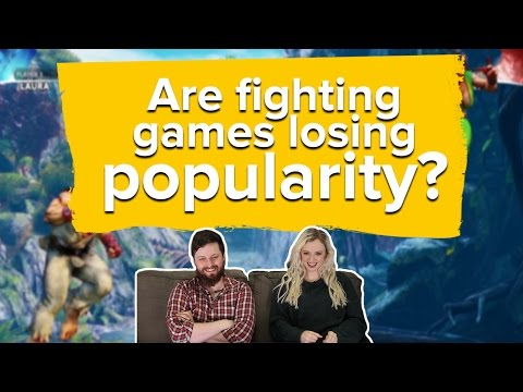 Are fighting games losing popularity? The Eurogamer Show