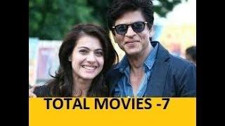 Shahrukh Khan & Kajol movies list