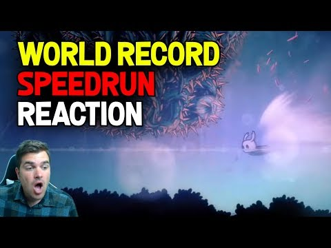 Hollow Knight- World Record Speedrun Reaction: No Major Glitches 33:41