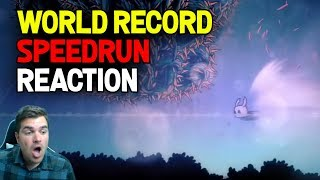 Hollow Knight- World Record Speedrun Reaction: No Major Glitches 33:41