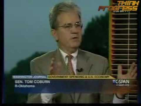 Coburn throws roomie Heath Shuler under the bus to attack unemployment benefits