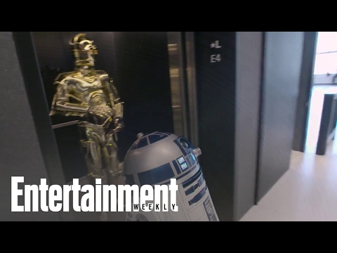 Star Wars Droids R2-D2 And C-3Po Surprise Unsuspecting Office Workers | Entertainment Weekly