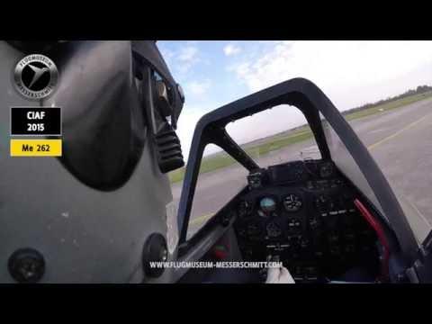 Messerschmitt Me 262 / A TRUE Pilot´s View / PART 1 - Start up and Taxi - ENJOY ...