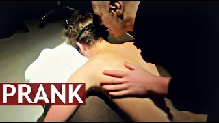 CREEPY OLD MAN MASSAGE PRANK