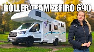 Rollerteam Zefiro 690 Ford Transit Six Birth Motor home Camper Reviewed 2020
