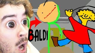 BALDI?! O QUE ACONTECEU AO BALDI?! (BALDI EM CARTOON) | Baldi-Grundlagen in Bildung Und Lernen