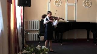 Кміть Христина (скрипка)