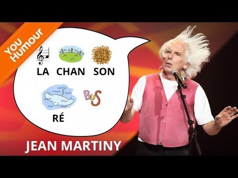 JEAN MARTINY - La chanson rébus