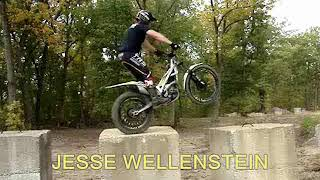 RIDING THE TRS 250cc TRIALS MOTORCYCLES AT TILTON iLLINOIS Oct 14th 2017