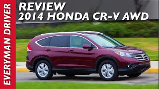 Watch This: 2014 Honda CR-V AWD on Everyman Driver