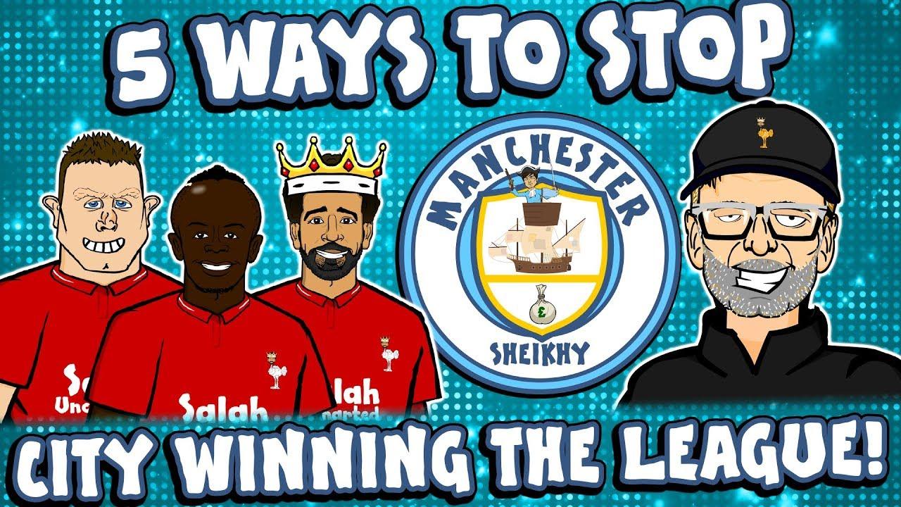 👊🏻5 Ways To Stop MAN CITY👊🏻 ... winning the league!