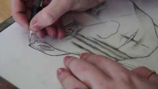Outsider: Astrid Time Lapse Drawing
