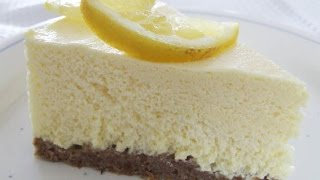 Lemon Cheesecake (no Bake!) - Recipe