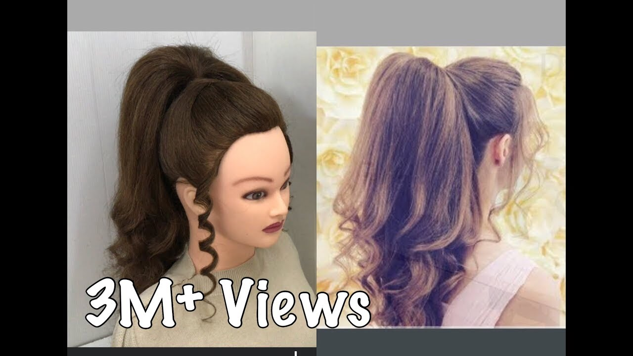 Beautiful Hairstyles With Long Ponytail Trick Easy Wedding