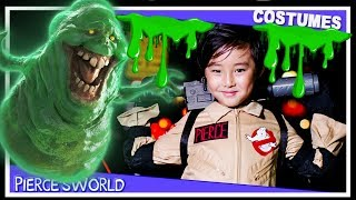 Ghostbusters movie Playmobil Making Slime Answer the Call 1989 Costume DIY party Who you gonna call thumbnail