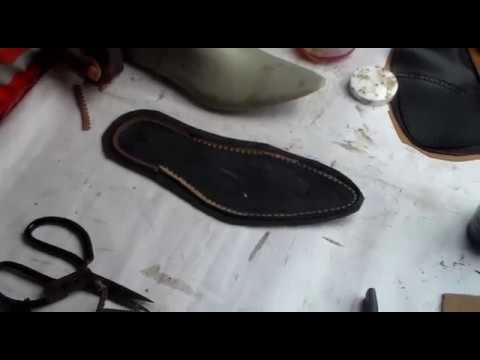953a196200616 complete shoemaking part 2(sole arrangement)